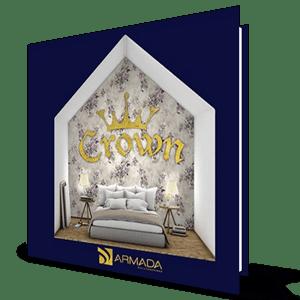 Crown Duvar Kağıdı 4407-05