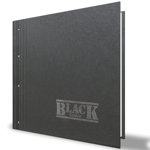 Golden Black Duvar Kağıdı 41112