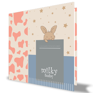 Milky Baby Duvar Kağıdı 407-2